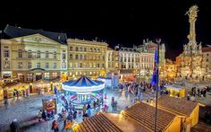 Christmas Olomouc 2014 Capital City, Czech Republic, Hungary, Poland, Times Square, Street View, Tours, Urban, River