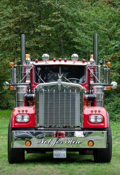 49 Ideas Semi Truck Pictures Peterbilt 379 For 2019 Big Rig Trucks, Semi Trucks, Cool Trucks, Pickup Trucks, Peterbilt 379, Peterbilt Trucks, Custom Big Rigs, Custom Trucks, Monster Truck Room