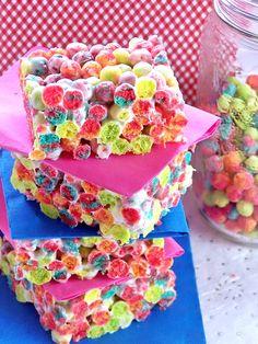 Bubble Guppies Party Trix Cereal Treats