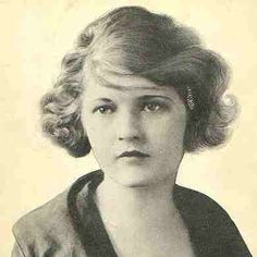 Zelda Fitzgerald wasn't just the wife of Scott, but a writer in her own right. Scott used many of her letters in his novels. She was a belle, a flapper,a dancer and eventually went mad and died when her mental hospital burned down.