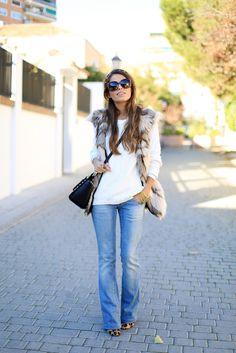 Fur vest...yes please!