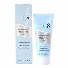 OC8 Professional Mattifying Gel Recommended by dermatologists to regulate oil production and reduce breakouts