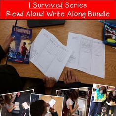 This bundle includes Read Aloud Write Alongs for 14 books in the I Survived series by Lauren Tarshis. By buying the bundle, you save 30% of the cost of buying each product separately! Thats more than 4 free products!Each book has a series of 3 or 4 foldables with higher level thinking questions for each chapter.To see previews for each product, click below.I Survived The Eruption of Mount St.