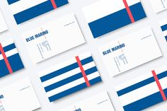 Fish market brand identity design by Jonathan Mont for Blue Marino. Jonathan Mont, a Tampico, Mexico based creative director was responsible for the overal