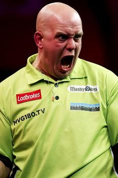 Michael van Gerwen the best darts player in the world.