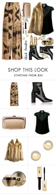 """Untitled #970"" by m-jelic ❤ liked on Polyvore featuring Vilshenko, Gucci, Roger Vivier, Theyskens' Theory, Bloomingdale's, Guerlain and Yves Saint Laurent"