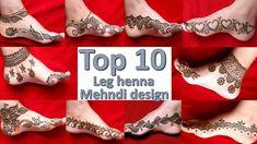 #henna #hennadellaedelle top 10 leg bridal henna mehndi design || eid, rakhi special mehndi design || dhulan leg henna design Mehndi Tattoo, Mehndi Art, Henna Mehndi, Mehendi, Leg Henna Designs, Mehandi Designs, Mehndi Brides, Bridal Mehndi, Thigh Henna
