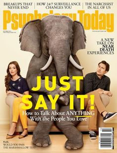 Psychology Today: October 2014. Photography: Peter Yang and John Lund. Creative direction: Edward Levine.
