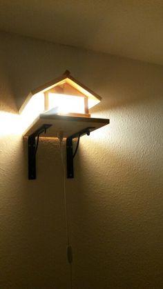 vogelhaus futterhaus herstellen bauen diy bauanleitung. Black Bedroom Furniture Sets. Home Design Ideas