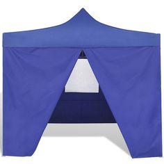Wynona x Steel Patio Gazebo Sol 72 Outdoor Colour (Roof): Blue Bbq Gazebo, Aluminum Gazebo, Canopy Tent, Canopies, Roofing Materials, Oxford Fabric, Parasol, Dcor Design, Hazelwood Home