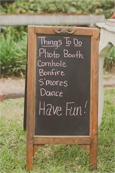 Things to do for the guests