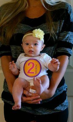 #LottieRose - 2 Months Old