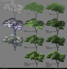 Tree Vertex Normals