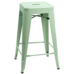 Barová židle Tolix zelená v. 66cm 28288 Lugo desig