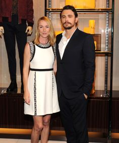 A year of Chime for Change: Frida Giannini and James Franco in New York City