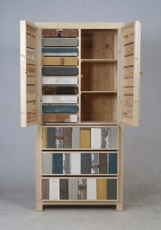 SCRAP WOOD FURNITURE BY PIET HEIN EEK.