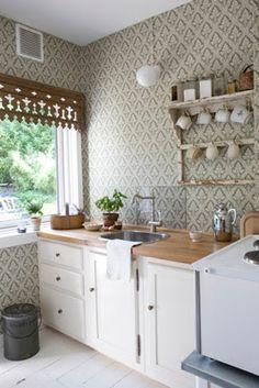VINTAGE: Anitas kök i Allt i Hemmet
