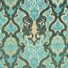 cabriole - turquoise fabric | Designers Guild