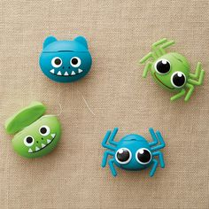 Whether you're young or young at heart, our Spider and Monster Dental Floss dispensers make flossing more fun!