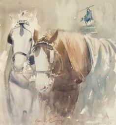Horses | FRANK EBER: A PAINTER'S BLOG