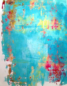 Gelli plate background print