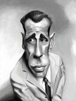 Bogart Caricature by *DoodleArtStudios on deviantART