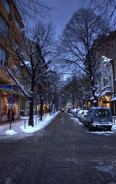 Sofia - Bulgaria ( K share moments ❄️❄️ Winter Scenes ❄️❄️ Sofia Bulgaria, Albania, Wonderful Places, Beautiful Places, Amazing Places, Beautiful Scenery, Montenegro, Oh The Places You'll Go, Places To Visit