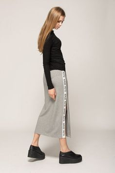 24 Reasons To Still Consider A Maxi-Skirt #refinery29  http://www.refinery29.com/modern-maxi-skirts#slide-3  Because sometimes you just need to be reminded to take it slow.
