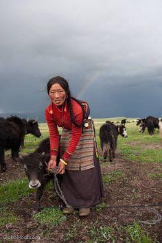 L' Âme du Monde    Photo by © Patrick Picto  Nomads of Litang   http://www.picto.asia/wp/?p=469