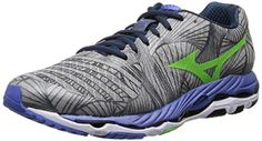 Mizuno Mens Wave Paradox Running ShoeAlloyGreen FlashDazzling Blue105 D US -- For more information, visit image link.(This is an Amazon affiliate link and I receive a commission for the sales) #RunningWomensFootwear