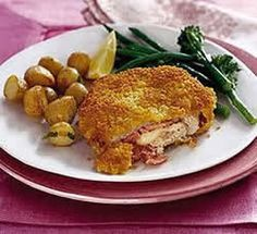 Turkey Escalopes Cordon Bleu