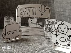 Popup Shave Ice Shack