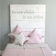 I don't love the colors, but I live the idea. Baby Bedroom, Girls Bedroom, Bedroom Decor, Bedrooms, Baby Decor, Kids Decor, Cool Kids Rooms, Princess Room, Toddler Rooms