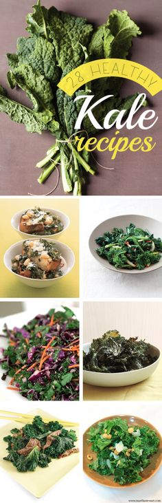 Kale is loaded with nutrients, and these kale recipes give you plenty of options for incorporating it into your meal. Whether you're adding kale into a salad or just using it alone as a side, these recipes will give you options for even the pickiest eaters.