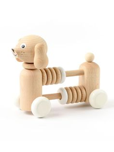Wooden Dog Counter