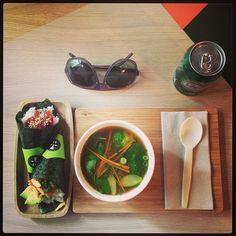 @Luis Roy | And great #food #yoobi