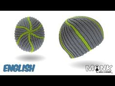 Crochet Beanie - Snake Beanie english - Slip stitch crochet - YouTube
