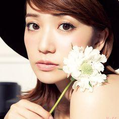 WEB限定で大公開!② 大島優子VOCEのカーバービューティメイク♡