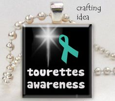 Tourettes awareness digital collage sheet by groovygraphics
