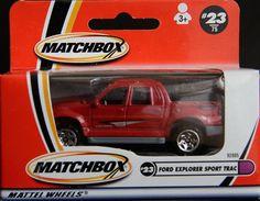 Model Matchbox Ford Explorer Sport Trac