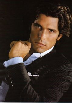 Meet Nacho Figueras: Quite Possibly The World's Hottest And Most Altruistic Polo Player. There's no quite possibly in my mind but, then again I'm older and wiser and know my own thoughts and opinions. Sizzling hot!!!