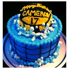 Water polo birthday cake