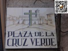 Plaza de la Cruz Verde de la Ciudad de Madrid en España
