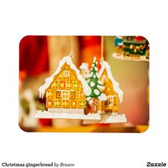 Christmas gingerbread magnet Holiday Cards, Christmas Cards, Christmas Gingerbread, Christmas Card Holders, Hand Sanitizer, Keep It Cleaner, Magnets, Prints, Food