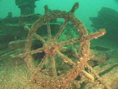 I want to bronze cast an underwater shipwreck 😱⚓️ Marquette Michigan, State Of Michigan, Lake Michigan, Great Lakes Shipwrecks, Underwater Shipwreck, Sunken City, Abandoned Ships, Ghost Ship, Traverse City