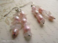 Pink Passion Earrings by Lorel Lee