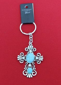 Key chain - cross   Cindy's Simple Pleasures, LLC