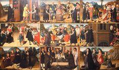 Reč o skutkoch telesného a duchovného milosrdenstva Painting, Art, Art Background, Painting Art, Kunst, Paintings, Performing Arts, Painted Canvas, Drawings