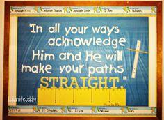 Christian Bulletin Board Ideas | 2012 back to school bulletin board here is the new board it is ...