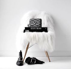 Need a cute chair to show off our cute accessories